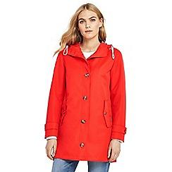 Lands' End - Orange rain coat