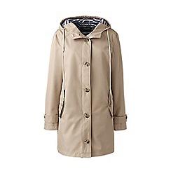 Lands' End - Beige rain coat