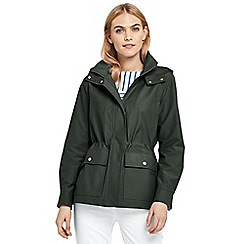 Lands' End - Green everyday cotton-rich jacket