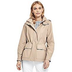 Lands' End - Beige everyday cotton-rich jacket