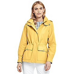 Lands' End - Yellow everyday cotton-rich jacket