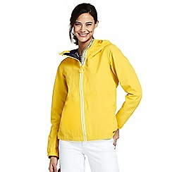 Lands' End - Yellow lightweight squall jacket