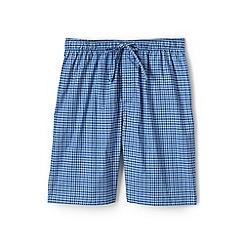Lands' End - Blue cotton pyjama shorts