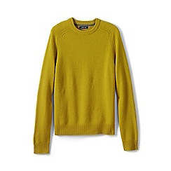 Lands' End - Yellow lambswool jumper