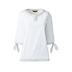 Cheap Sale Fake Womens Petite Soft Jersey Tie-sleeve Top - 10 -12 - RED Lands End 2018 New Cheap Online Collections Cheap Online 5DPLvQ