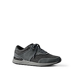 Lands' End - Grey leather trainers