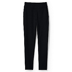 Lands' End - Black high waisted ponte trousers