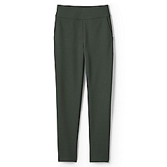 Lands' End - Green high waisted ponte trousers