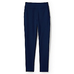 Lands' End - Blue high waisted ponte trousers
