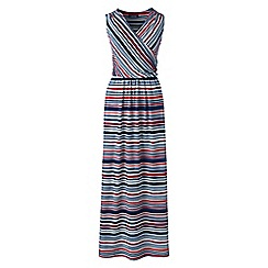 Lands' End - Multi print wrap maxi dress
