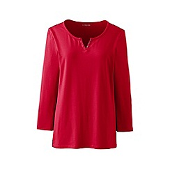 Lands' End - Red henley top