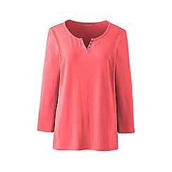 Lands' End - Orange henley top