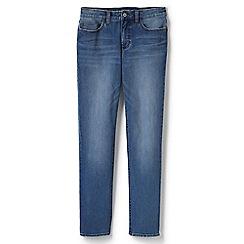 Lands' End - Blue fabulous fitting true straight leg jeans