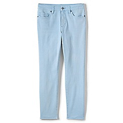 Womens Coloured Ankle Jeans - 14/16 - Grey Lands End m0A8kilzTH