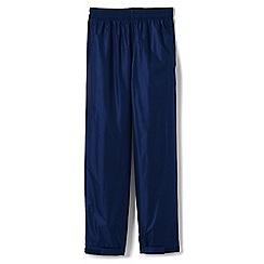 Lands' End - Blue kids' packable waterproof trousers