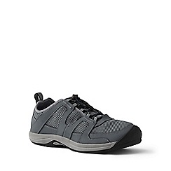 Lands' End - Grey wide water shoes