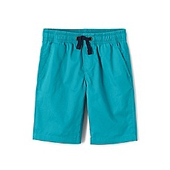 Lands' End - Blue boys' pull-on shorts