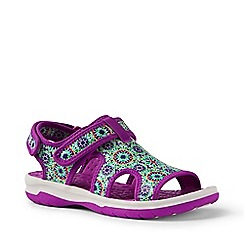 Lands' End - Purple action sandals