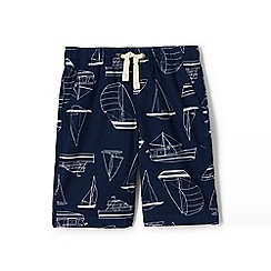 Lands' End - Blue boys' printed pull-on shorts
