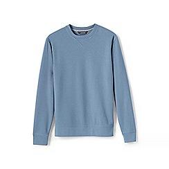 Lands' End - Blue crew neck sweatshirt