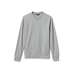 Lands' End - Grey crew neck sweatshirt