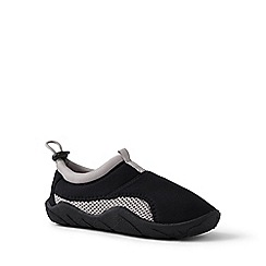 Lands' End - Black swim shoes