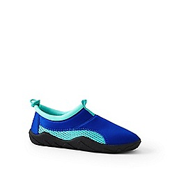 Lands' End - Blue swim shoes