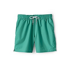 Lands' End - Green 6-inch swim shorts