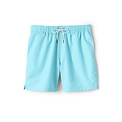 Lands' End - Blue 6-inch swim shorts