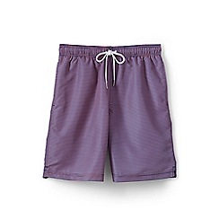 Lands' End - Multi 8-inch patterned swim shorts