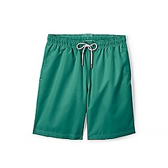 Lands' End - Green 8-inch swim shorts