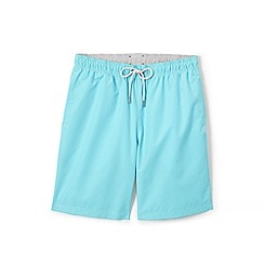Lands' End - Blue 8-inch swim shorts