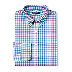 Lands' End - Blue smart shirt with coolmax
