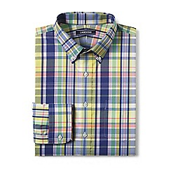 Lands' End - Yellow smart shirt with coolmax