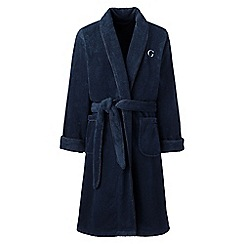 Lands' End - Blue bath robe