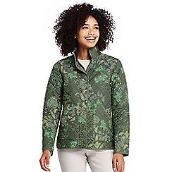 Lands' End - Multi patterned primaloft packable jacket