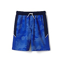 Lands' End - Blue boys' active swim shorts