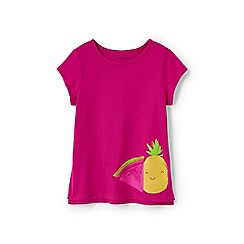 Lands' End - Girls' Pink  graphic t-shirt