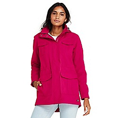 Lands' End - Red lightweight squall coat