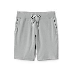 Lands' End - Grey pique jersey shorts