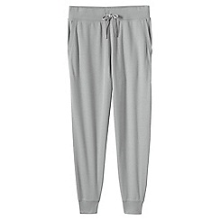 Lands' End - Grey pique jersey joggers