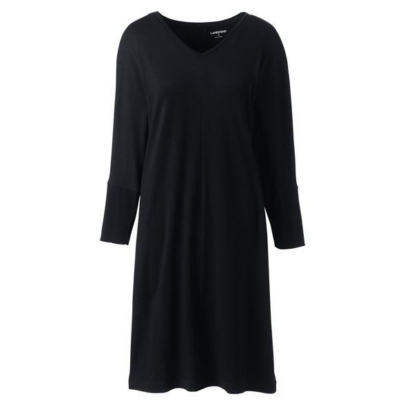t shirt Lands' dolman sleeves Black dress End Fgnq6vp