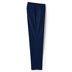 Lands' End - Navy  trousers with elastic waist