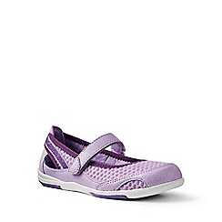 Lands' End - Girls' purple water shoes