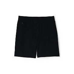 Lands' End - Black womens starfish jersey shorts