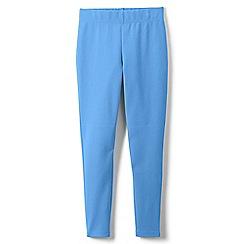 Lands' End - Blue toddler girls' iron knees ankle length leggings