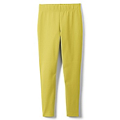 Lands' End - Yellow girls' iron knees ankle length leggings