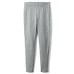 Lands' End - Grey girls' iron knees ankle length leggings