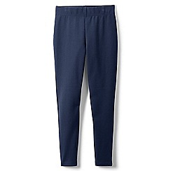 Lands' End - Blue girls' iron knees ankle length leggings