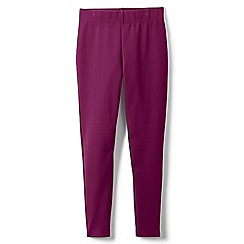 Lands' End - Purple girls' iron knees ankle length leggings